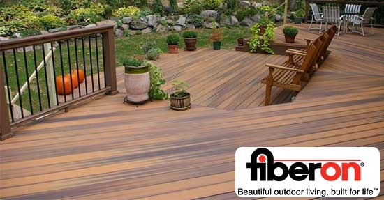 Fiberon products the deck store online for Composite decking brands
