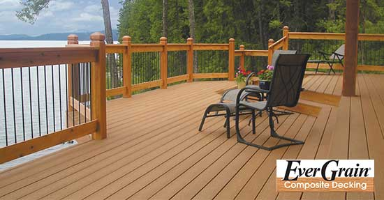 Evergrain classic by tamko the deck store online for Envision decking